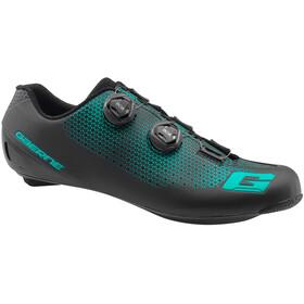 Gaerne Carbon G.Chrono Miehet kengät , musta/turkoosi
